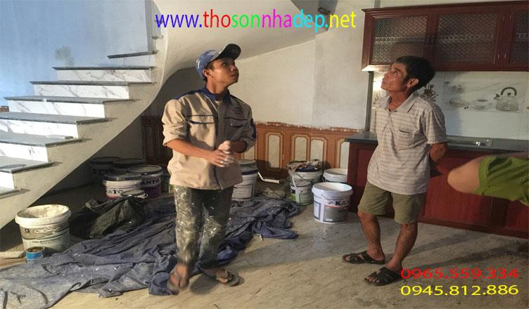 dịch vụ sơn nhà giá rẻ hà nội