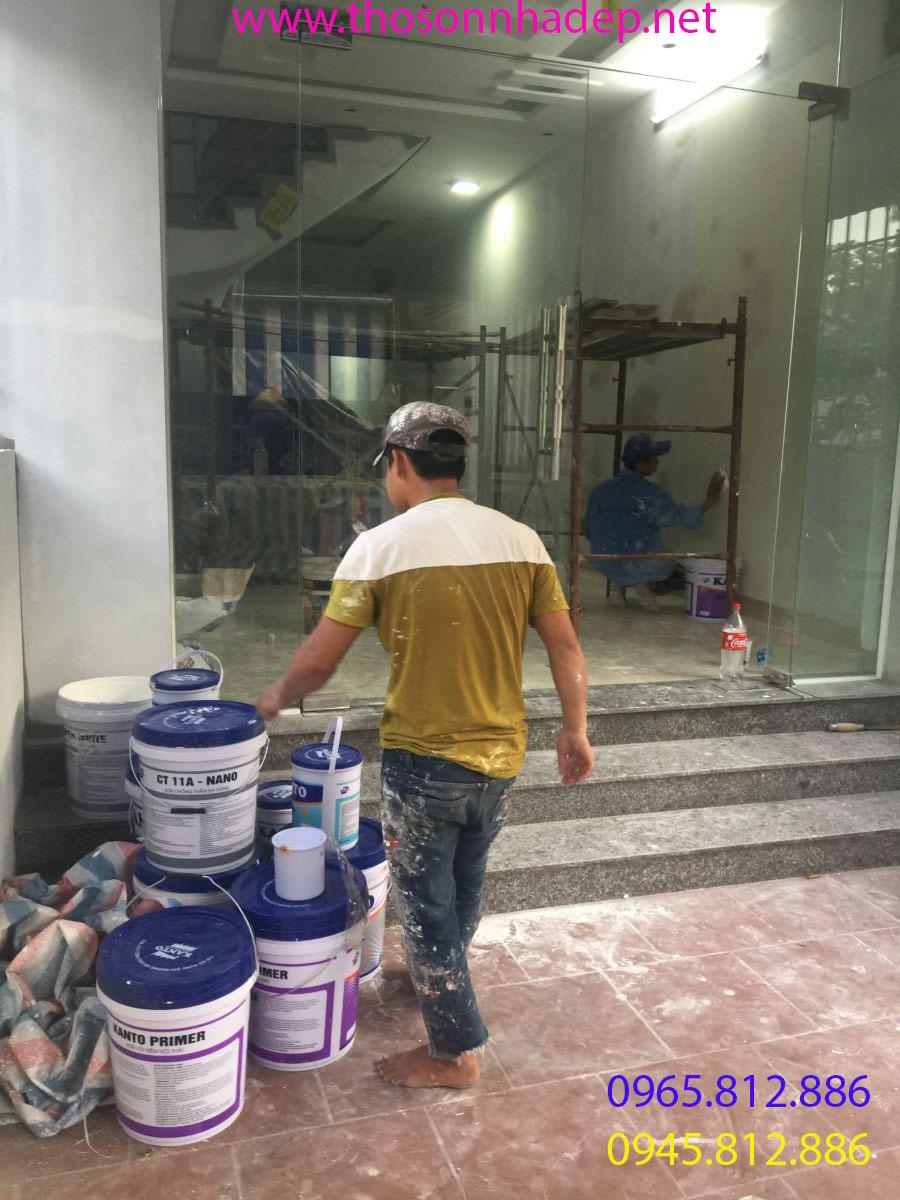 dịch vụ sơn nhà tại hà đông