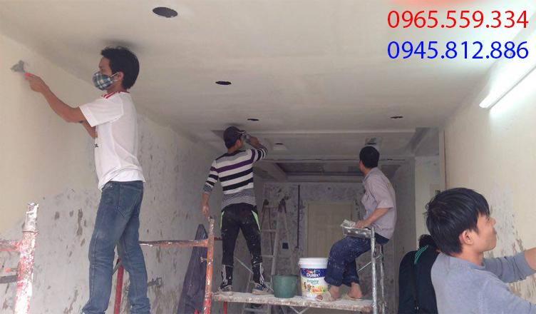 thợ sơn bả giá rẻ nhất tại Hà Nội