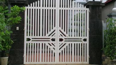 mẫu sơn cửa sắt đẹp, Thợ sơn sắt, báo giá sơn cửa sắt trọn gói tại Hà Nội