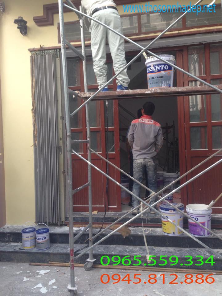 thợ sơn nhà giá rẻ tại hà đông