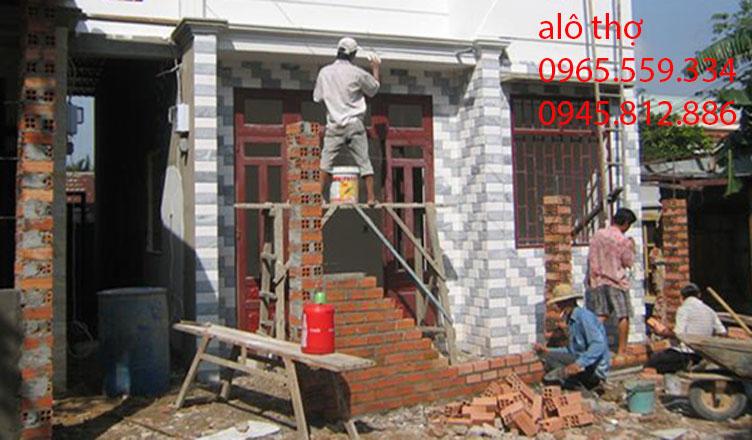 thợ xây trát ốp lát