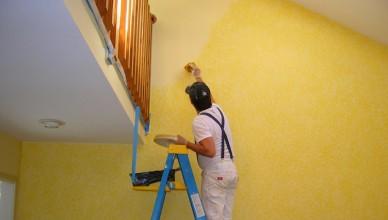 Thợ sơn nhà Hoàng Mai trọn gói giá rẻ