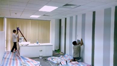 1 thùng sơn 18 lít sơn được bao nhiêu m2 nhà?