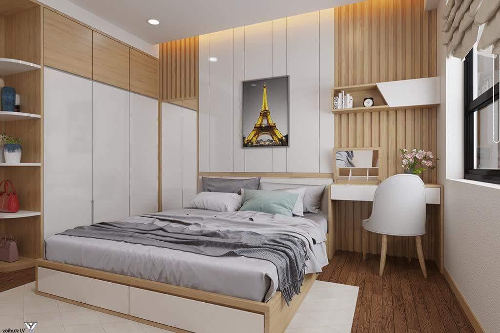 màu sơn phòng ngủ nhẹ nhàng dễ chịu