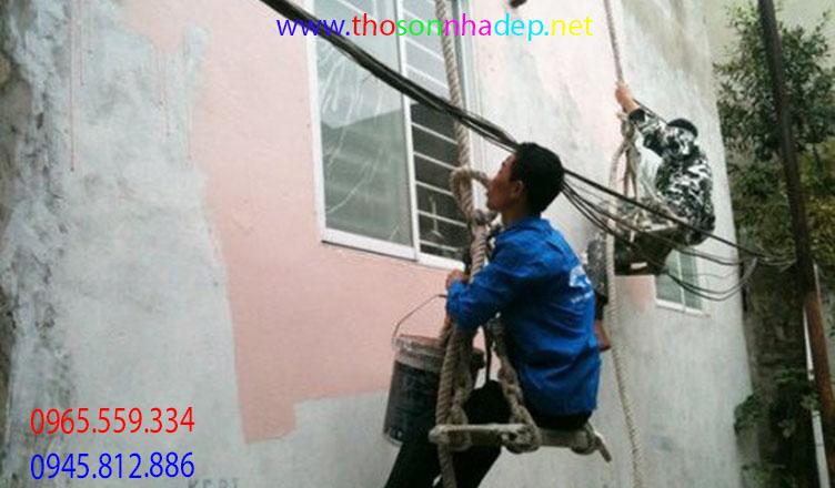 thuê thợ sơn nhà