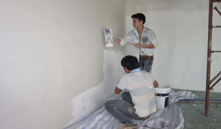 Giá thợ sơn nhà tại Hà Nội bao nhiêu tiền 1 m2?