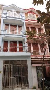 sơn nhà liền kề cho 2 bố con nhà anh Hòa ở làng việt kiều MỖ LAO HÀ ĐÔNG