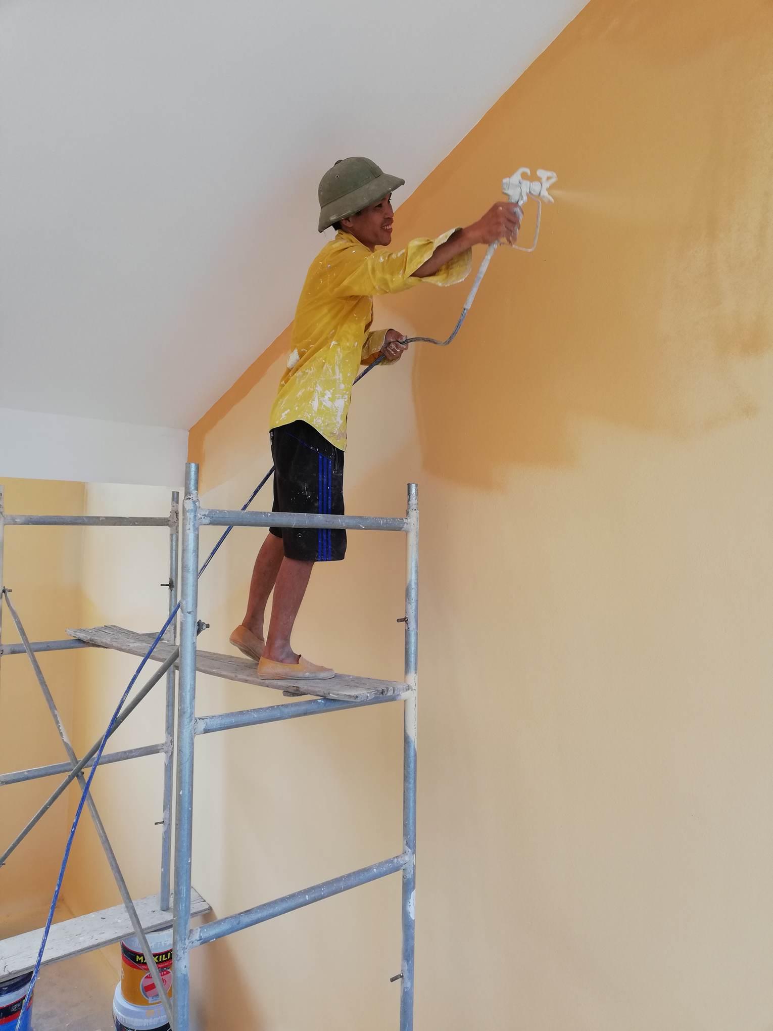 thợ phun sơn nhà hà nộithợ phun sơn nhà hà nội