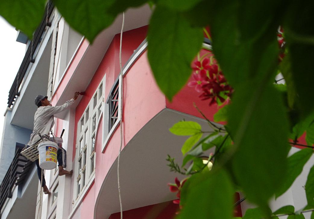 thợ sơn nhà đẹp tại hà nội