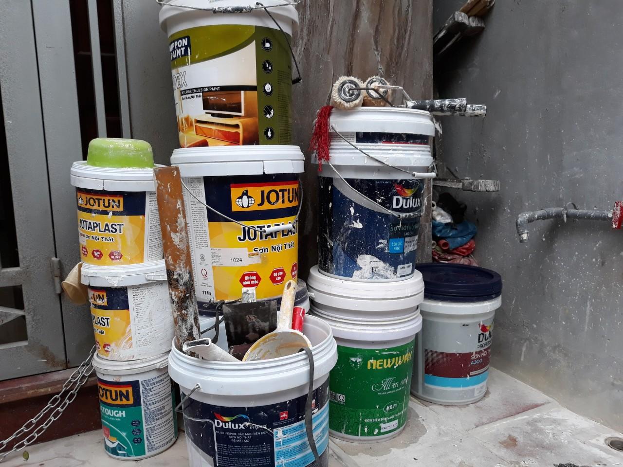 thợ sơn nhà Bắc Từ Liêm