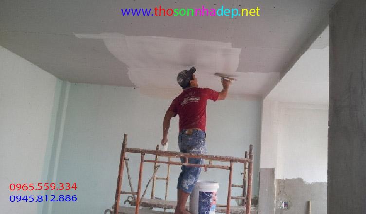 chi phí sơn nhà chung cư mới nhất