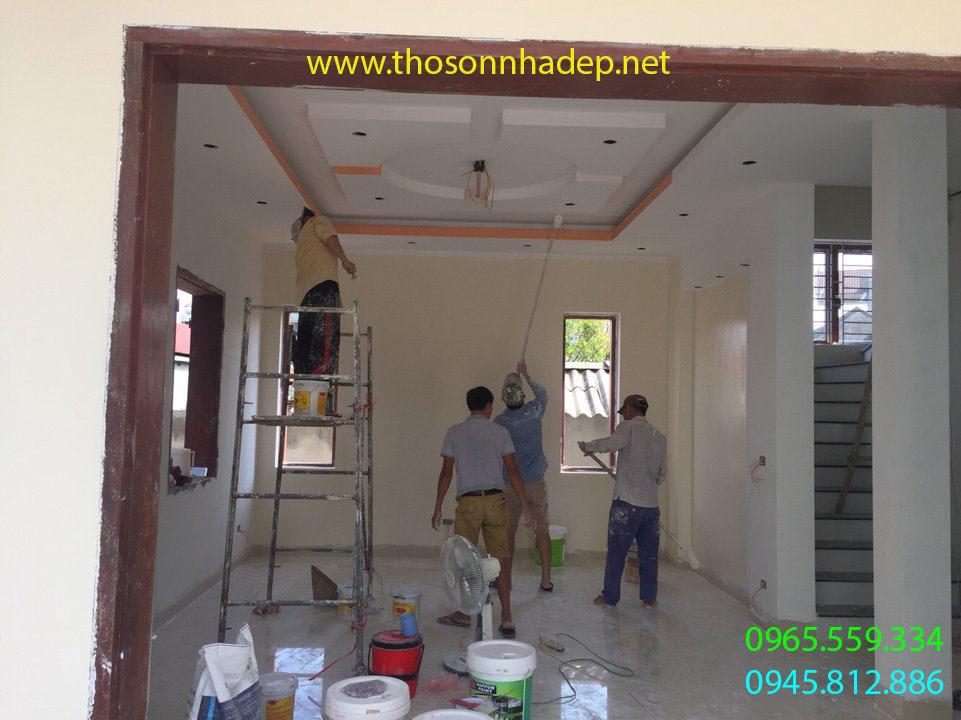thợ sơn nhà quảng ninh