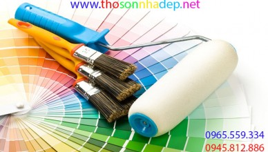 Thợ sơn nhà Đà Nẵng