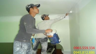 thợ sơn nhà điện biên