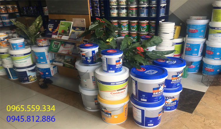 Thợ sơn nhà tại Yên Bái