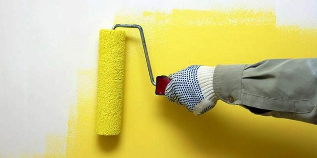 sơn lại nhà cũ