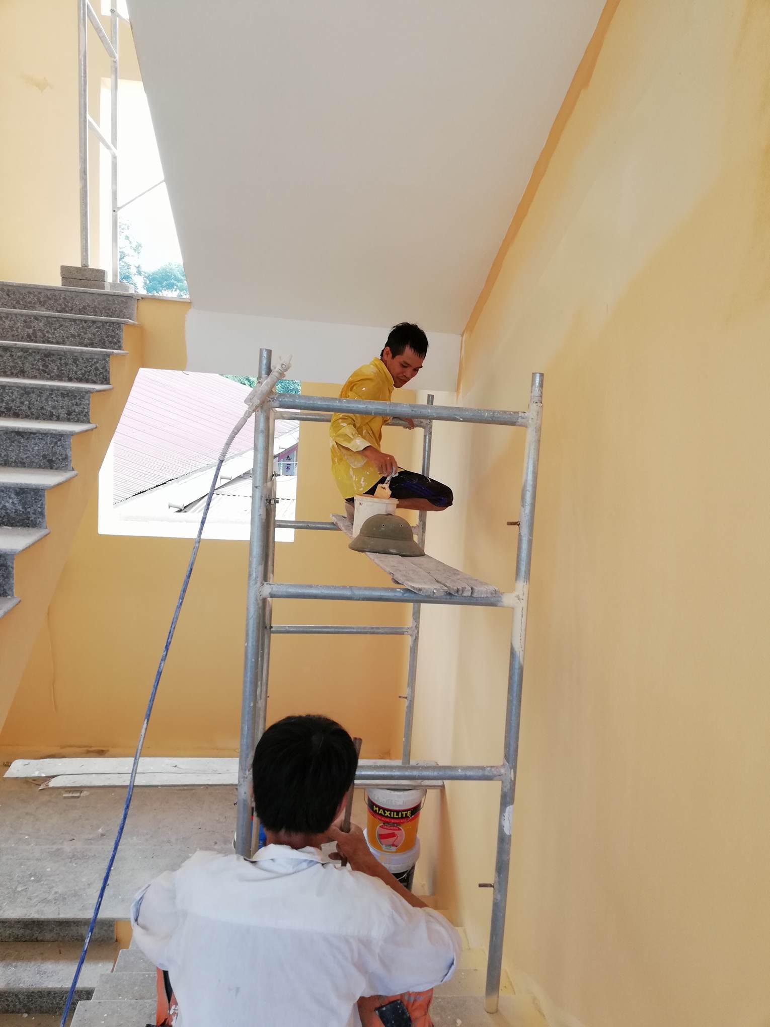 thợ phun sơn nhà chuyên nghiệp