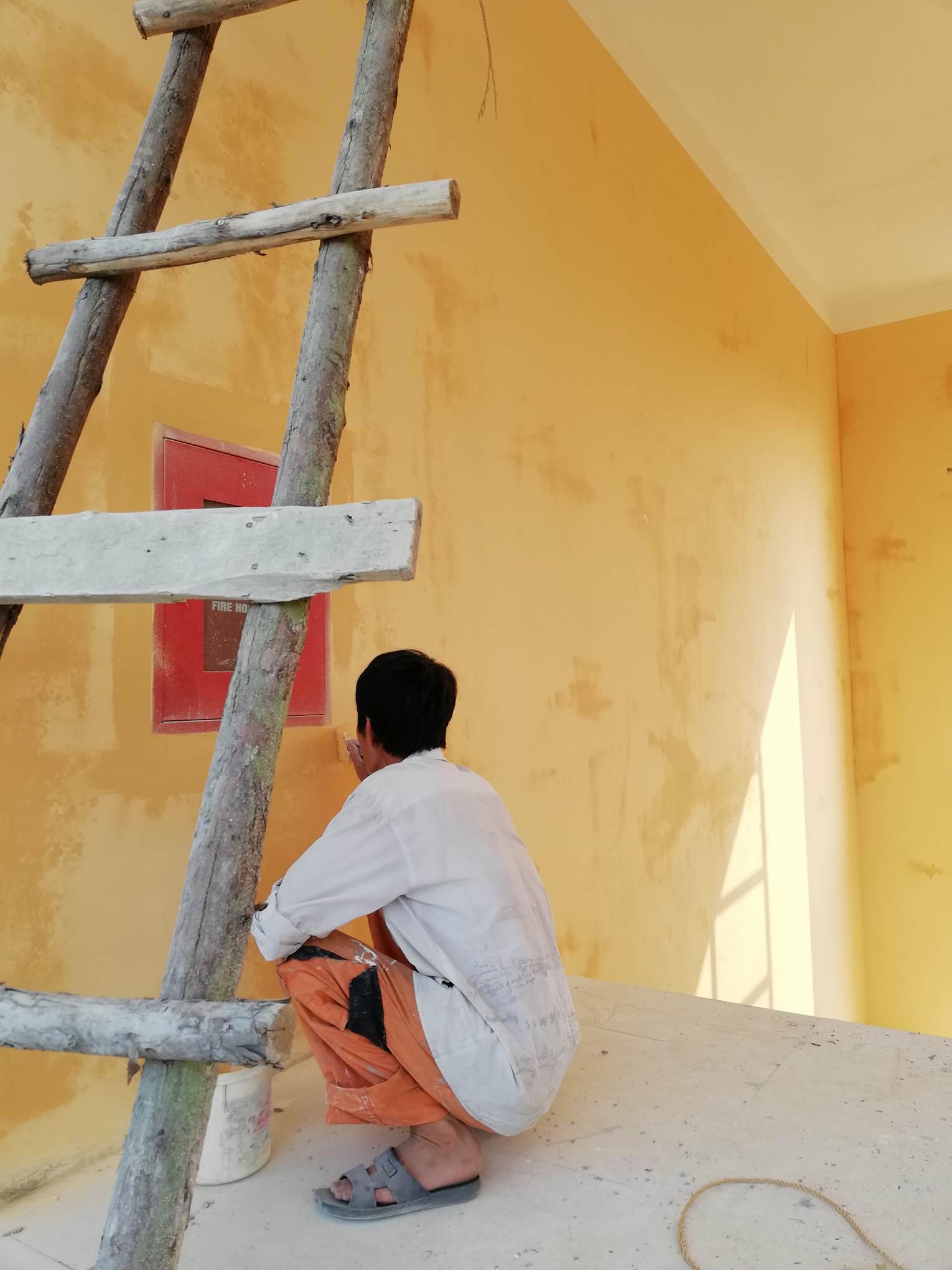 thợ phun sơn nhà giá rẻ