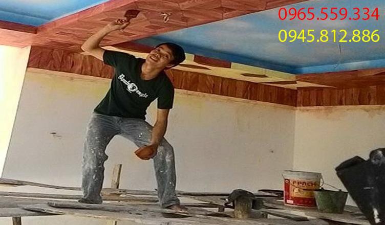 thợ sơn chuyên nghiệp