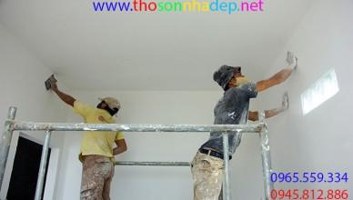 thợ sơn nhà nghệ an
