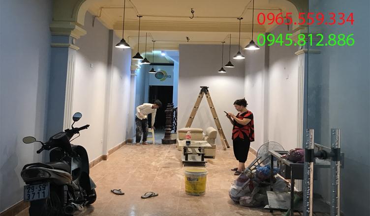 thợ sơn nhà tại hòa bình