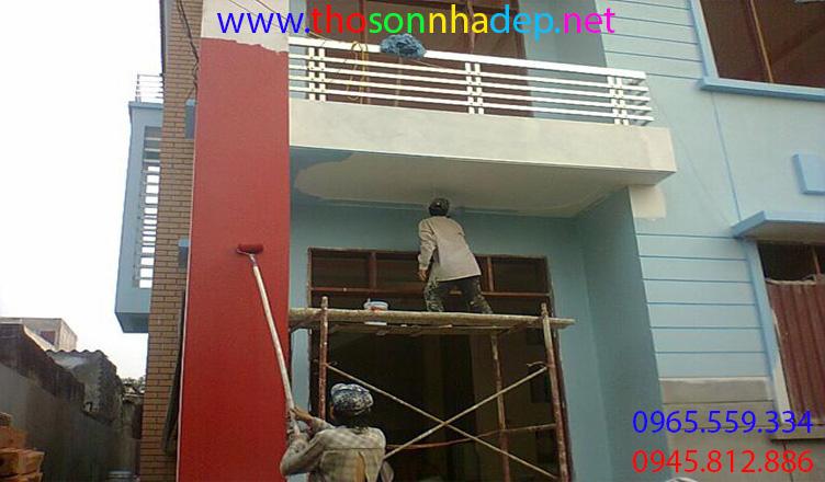 thợ sơn nhà tại quảng trị