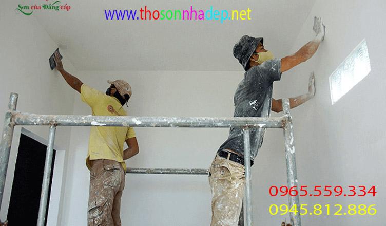 dịch vụ sơn nhà chuẩn