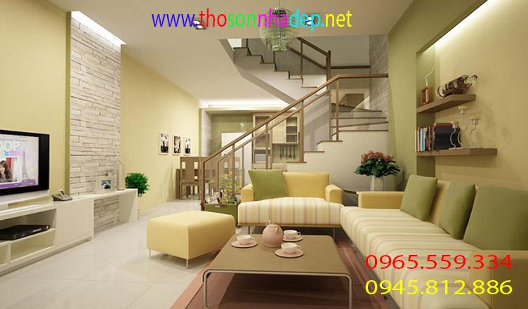 dịch vụ sơn nhà nhanh
