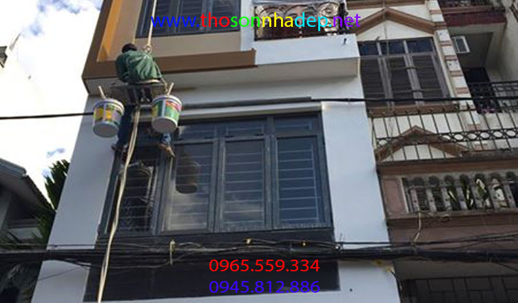 thợ sơn nhà bình dương