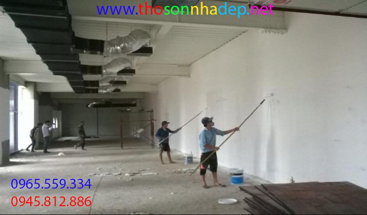 thợ sơn nhà tại khánh hòa