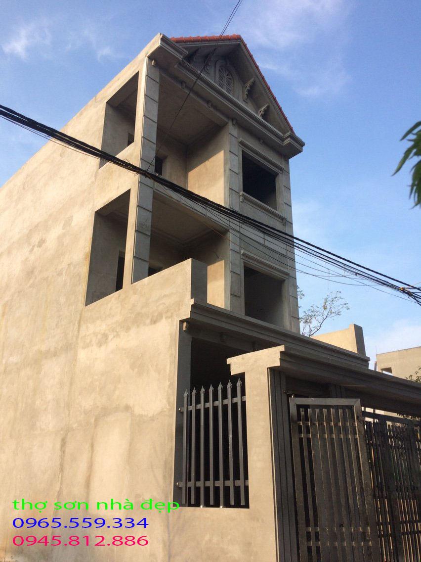 dịch vụ sơn nhà tại thanh trì