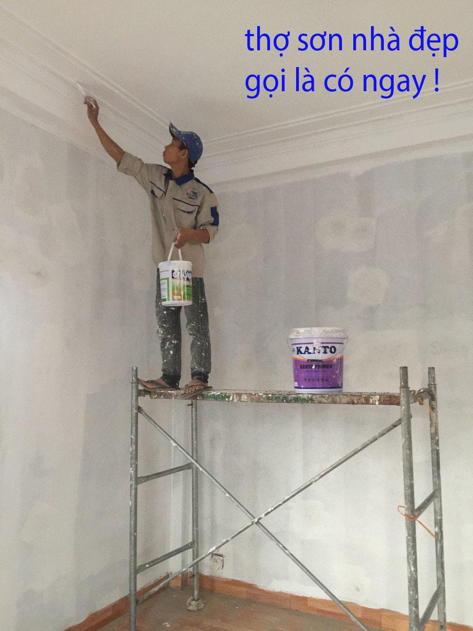 thợ sơn nhà tại xa la