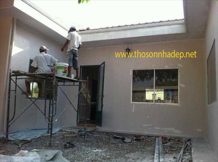 sơn nhà bao nhiêu tiền 1 m2