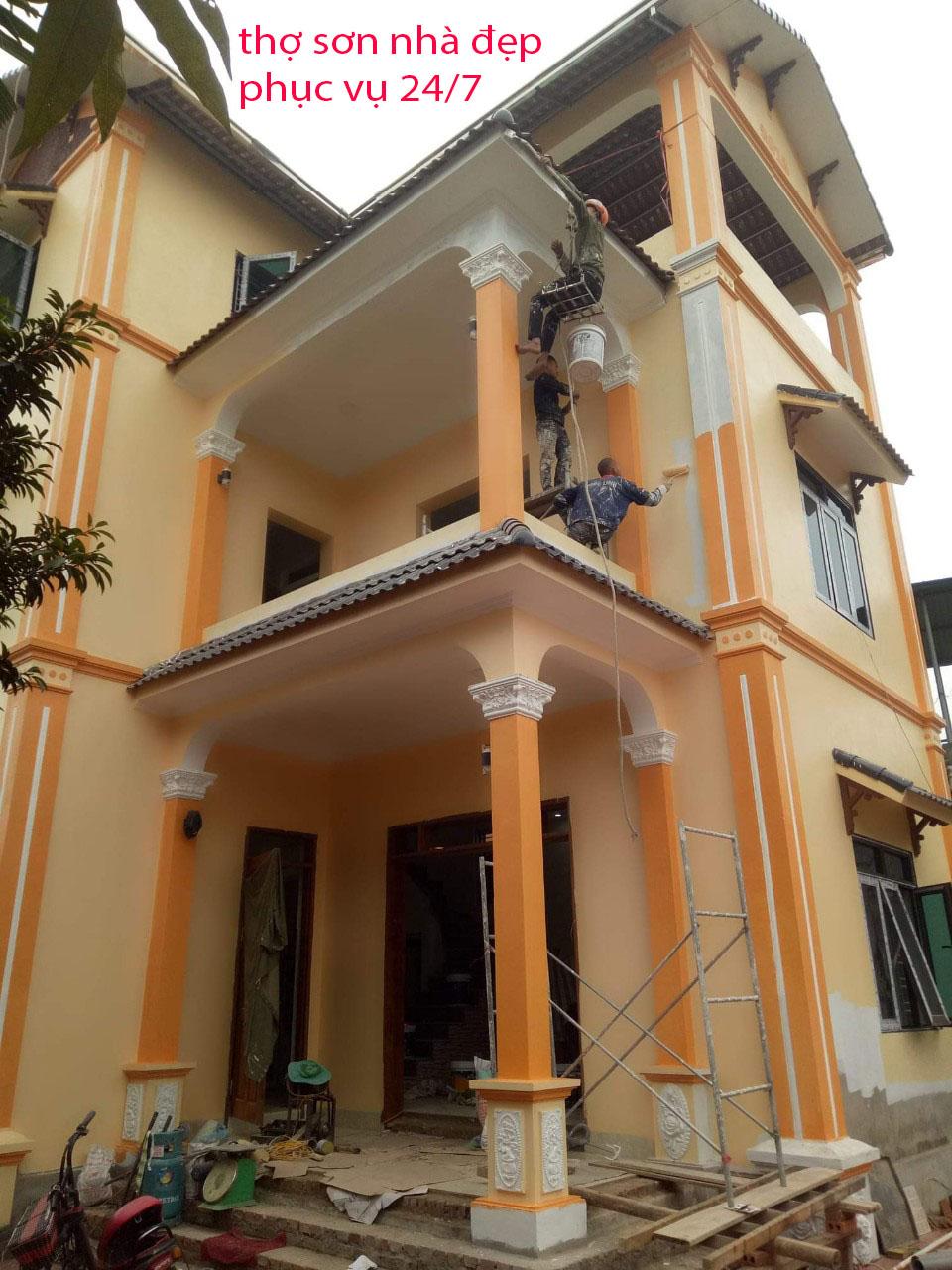 thợ sơn nhà hà nội