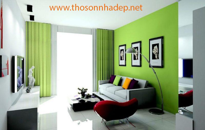 xu hướng chọn màu sơn nhà mới 2019