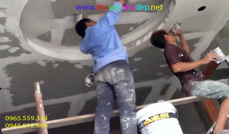 dịch vụ sơn nhà trên mạng