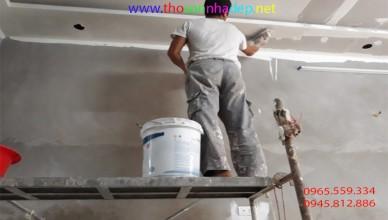 chi phí sơn nhà 2019