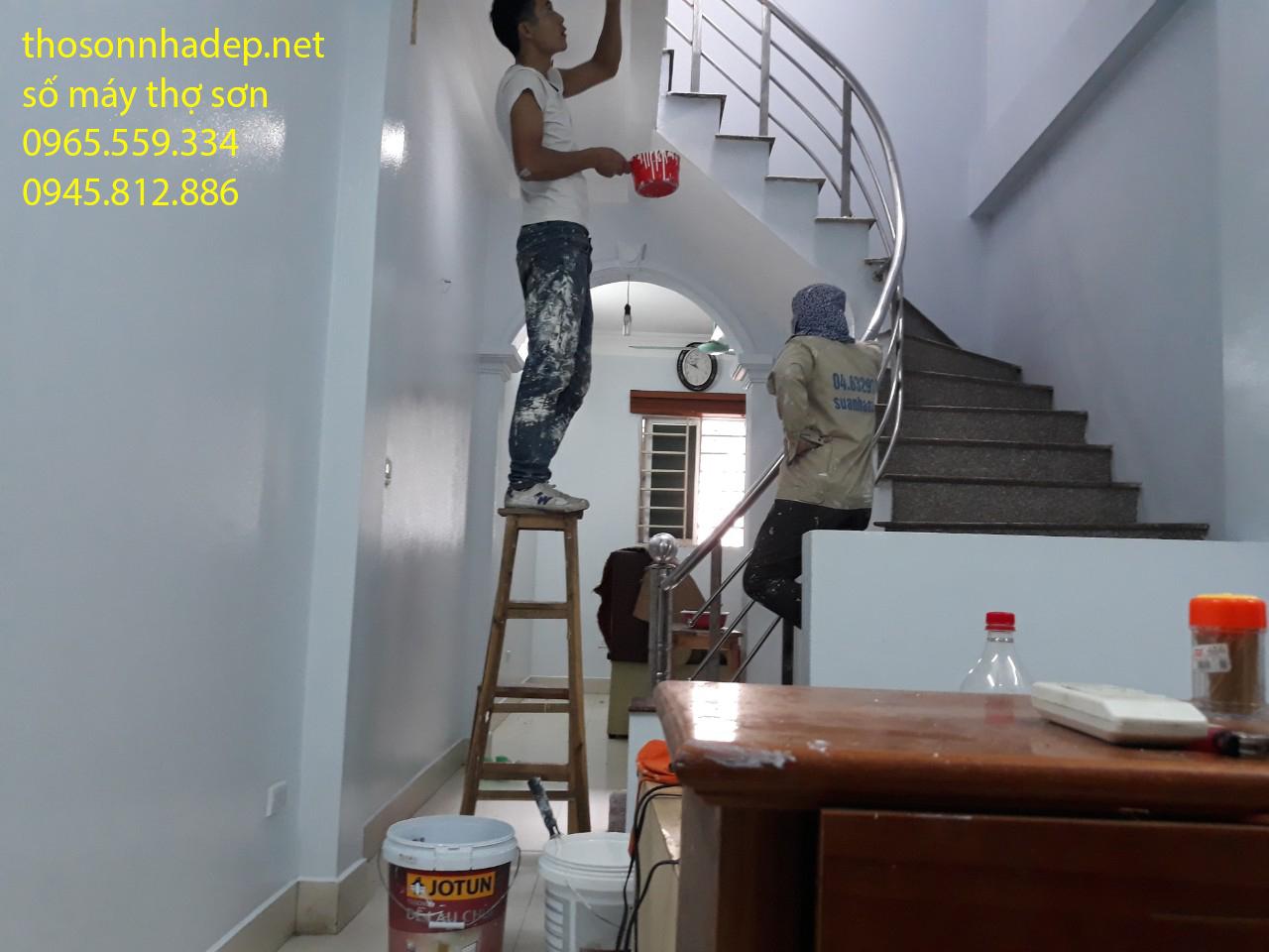 gọi thợ sơn nhà hà nội