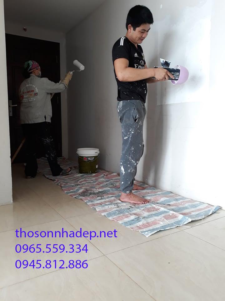sơn nhà hết bao nhiêu
