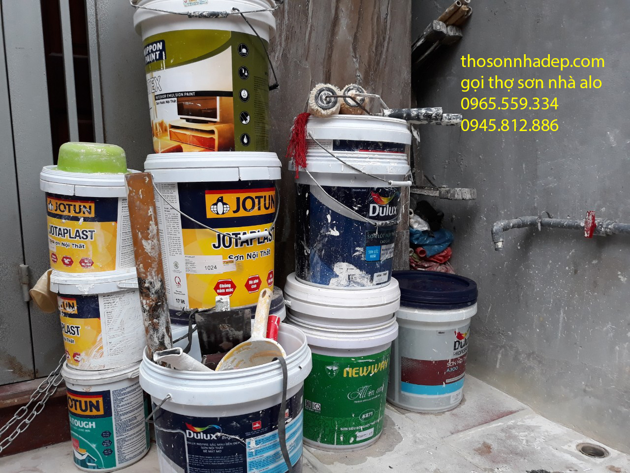 sơn nhà mới hết bao nhiêu tiền