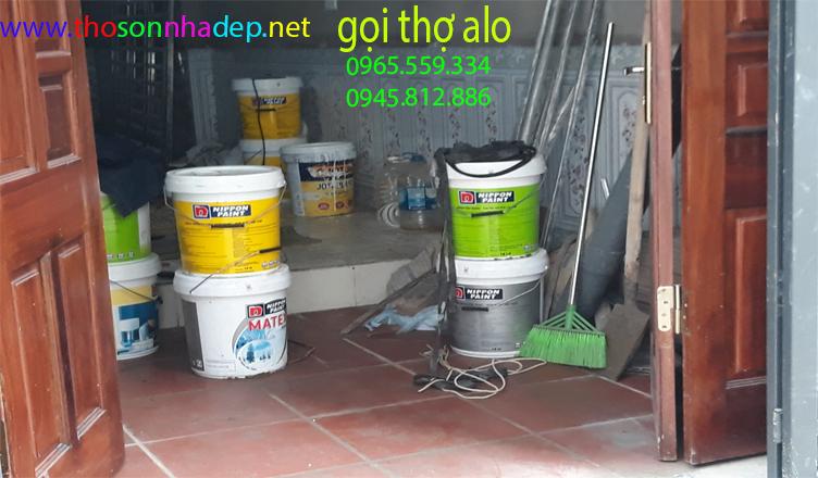 các phương pháp xử lý bề mặt trước khi sơn