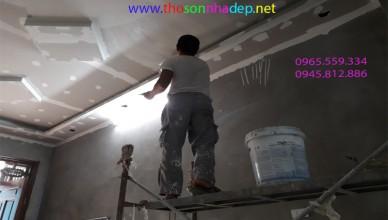 cách làm sạch bề mặt trước khi sơn