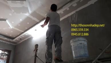 thợ làm sơn nhà