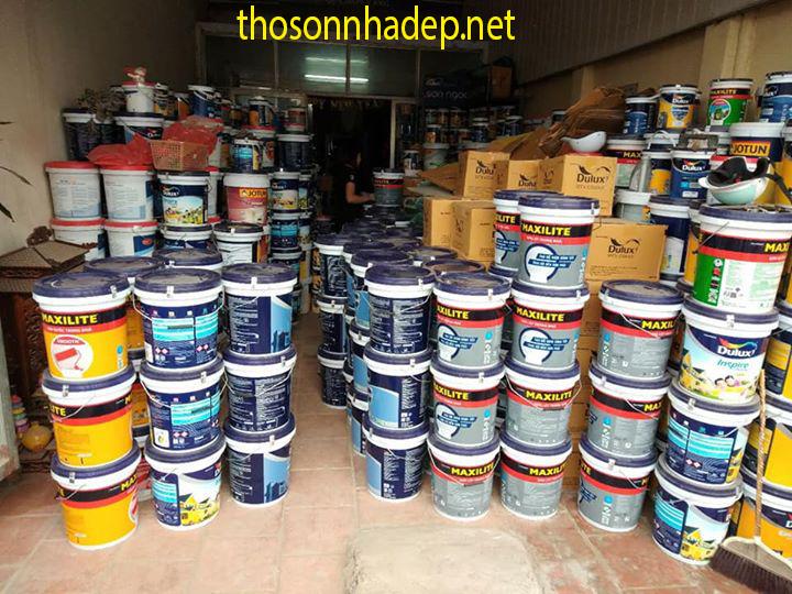 sơn lại nhà chung cư cũ mới