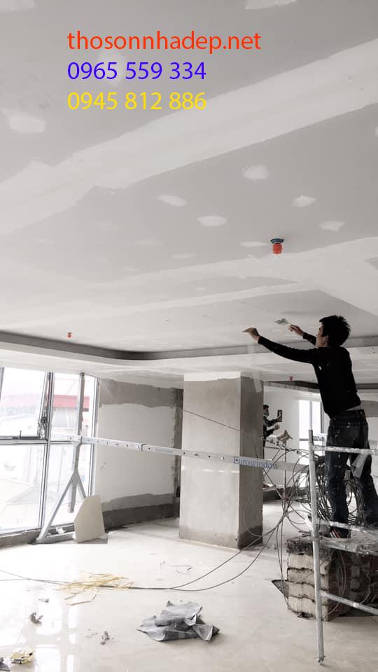 sơn sửa lại chung cư