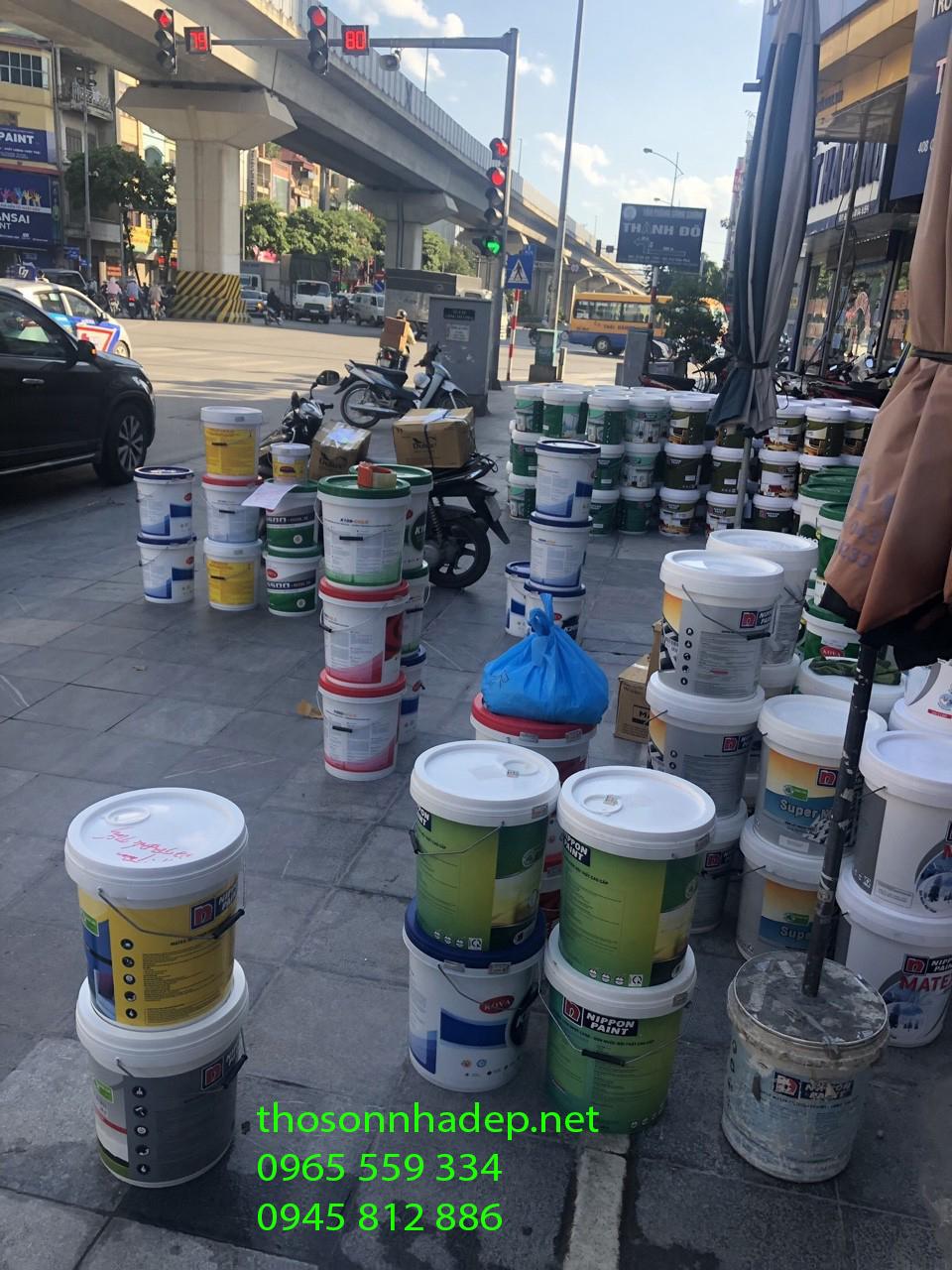 thợ sơn bán sơn
