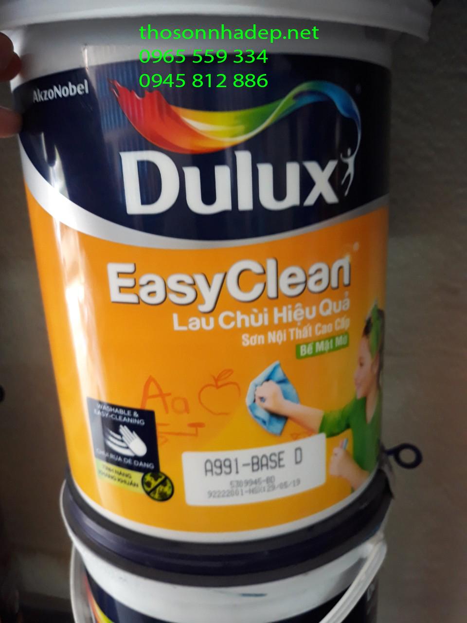 Sơn Dulux EasyClean