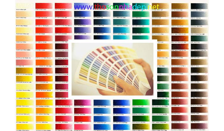 sơn nhà màu nào đẹp