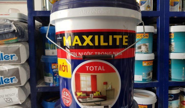 Báo giá sơn Maxilite kinh tế giá rẻ nhất Hà Nội
